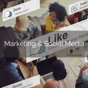 Marketing and Social Media Think Business Events