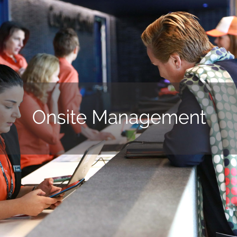 Onsite Management Think Business Events