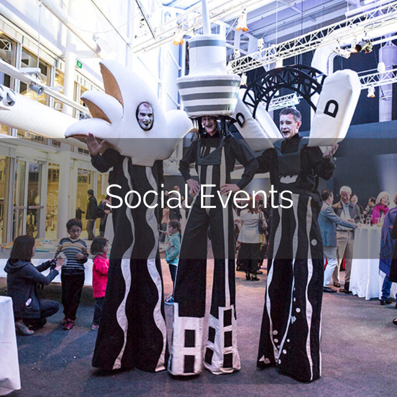 Social Events Think Business Events