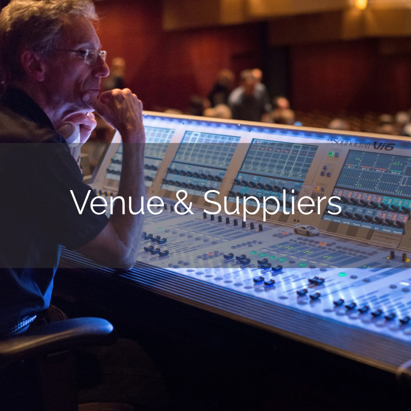Venue & Suppliers Think Business Events