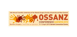 24th Annual Scientific Conference of the Obesity Surgery Society of Australia and New Zealand (OSSANZ 2012 Conference)