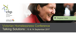 Victorian Homelessness Conference