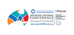 Australian Institute of Project Management Inaugural Regional Conference