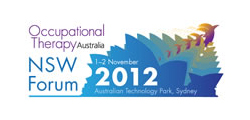 Occupational Therapy Australia NSW Forum 2012