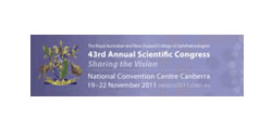 The Royal Australian and New Zealand College of Ophthalmologists 43rd Annual Scientific Congress (RANZCO 2011 Congress)