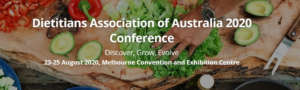 Dietitians Association of Australia 2020 Conference (DAA)